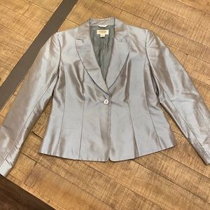 Talbots 100% silk jacket